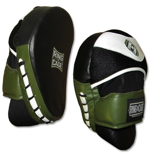 Ring To Cage Deluxe Curved Mitts